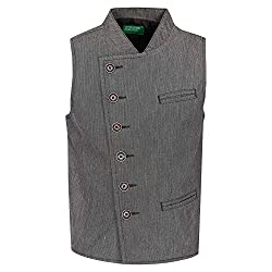 United Colors of Benetton Boys Regular Fit Coat (18P2JACK0102I_100_BLACK_2Y)