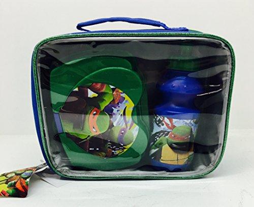 Preisvergleich Produktbild Teenage Mutant Ninja Turtles F108301 - Lunch Set Bag, Sandwich Box und Flasche, 3 Stück