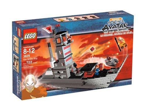 Avatar-spielzeug (Lego Avatar 3829 Feuerschiff)