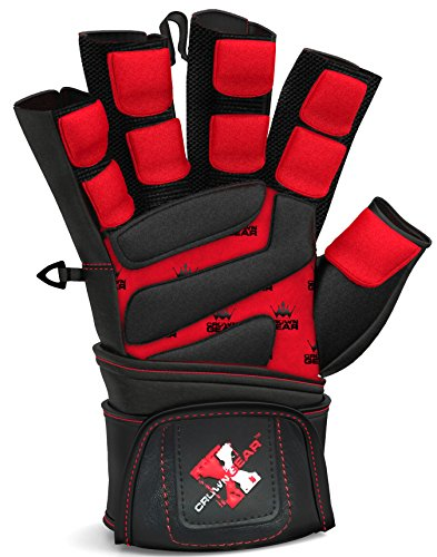 Weightlifting-Gloves-for-Gym-Fitness-Crossfit-Bodybuilding-Workout-Gloves-for-Men-Women-Dominator-Leather-Crossfit-Cross-Training-Gloves-W-Wrist-Strap-Wrap-Best-Weight-Lifting-Gloves-with-Wrist-Suppor
