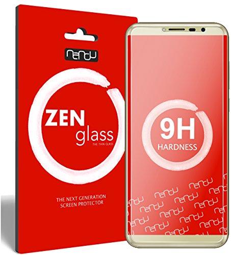 nandu I ZenGlass Flexible Glas-Folie für Cubot X18 Panzerfolie I Bildschirm-Schutzfolie 9H I (Kleiner Als Das Gewölbte Bildschirm)