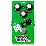 Dr Tone Analog Delay Electric Guitar / Bass Effects Pedal - Green