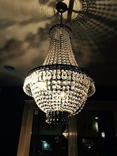 V-design bello lampadario bracci modello 'cristallo' con 65cm altezza