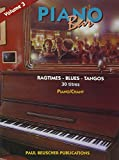 partition piano bar vol 3 ragtimes blues tangos