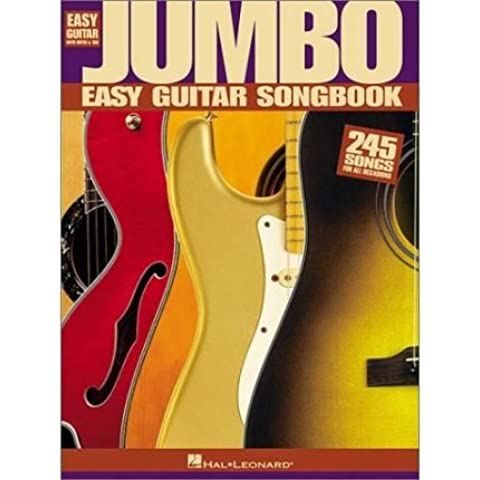 [(Jumbo Easy Guitar Songbook )] [Author: Hal Leonard Publishing Corporation] [Aug-2001] - Jumbo Easy Guitar Songbook