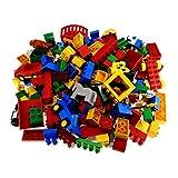 2 Kg Lego Duplo Steine Basic und Sondersteine Kiloware zufällig bunt gemischt