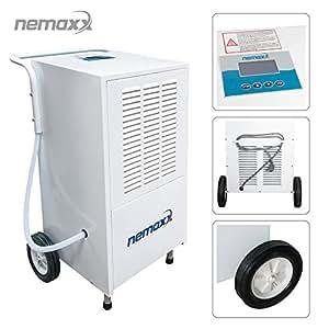 Nemaxx BT80 Déshumidificateur d'air professionnel et électrique jsq. 80 l/J