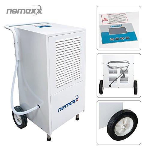Nemaxx BT25 / BT55 / BT55X / BT80 / BT120 Bautrockner Kondenstrockner Luftentfeuchter Raumentfeuchter Entfeuchter Trockner (max. 25l - 120l/Tag), Modell:BT80 (80 Liter/Tag)