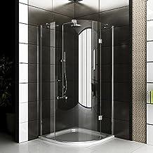 Duschabtrennung glas rund  Suchergebnis auf Amazon.de für: runddusche 90x90