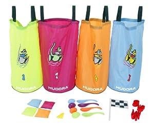 Hudora 76353 - Juego de accesorios de fiesta (25 piezas, incluye saco para carrera y accesorios)