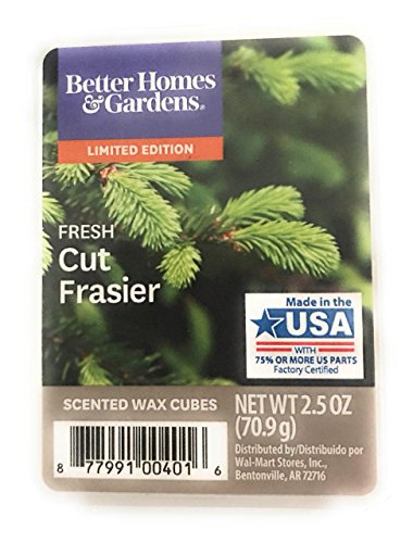 Besser und Gärten Fresh Frasier Tanne Wachs Cubes (Frasier Tanne)