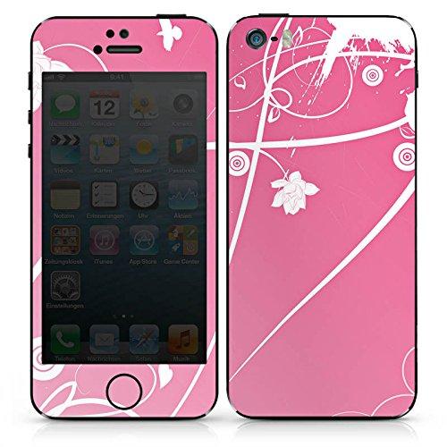 Apple iPhone 4s Case Skin Sticker aus Vinyl-Folie Aufkleber Ornamente Blumen Muster DesignSkins® glänzend