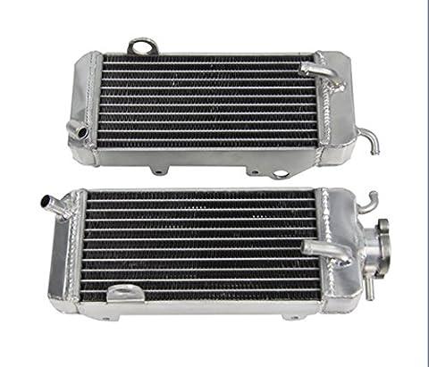 ALLOYWORKS Refroidissement du moteur en Aluminium Radiateur pour Yamaha YZ250 YZ 250 1986 1987 1988 1989 L&R