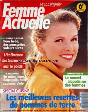 FEMME ACTUELLE [No 444] du 29/03/1993 - ...