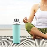 Ryaco Glasflasche Trinkflasche Classic 550ml BPA-frei von 5 Jahre bis Erwachsen - 7