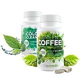 Green Coffee + Colon Cleanse - Pack minceur Café vert + Nettoyeur de Côlon Intensif