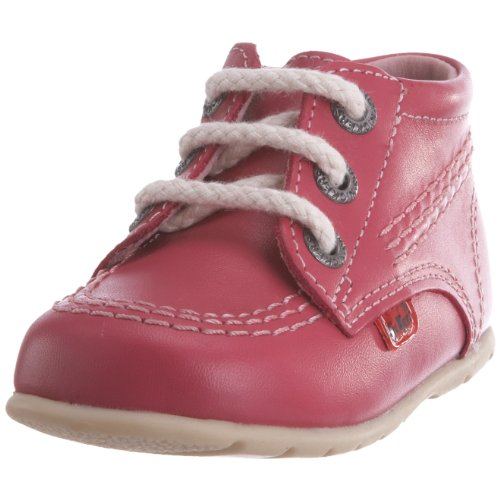 Kickers Kick Hi - Baskets - Mixte Bébé - Rose (Rose) - 18 EU