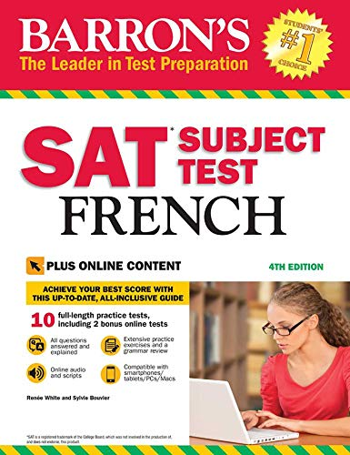 Barron's SAT Subject Test French with Online Tests - Act-test Barron