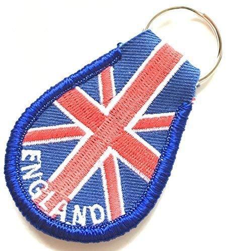 Inglaterra Union Jack Bordado Llavero mando llave