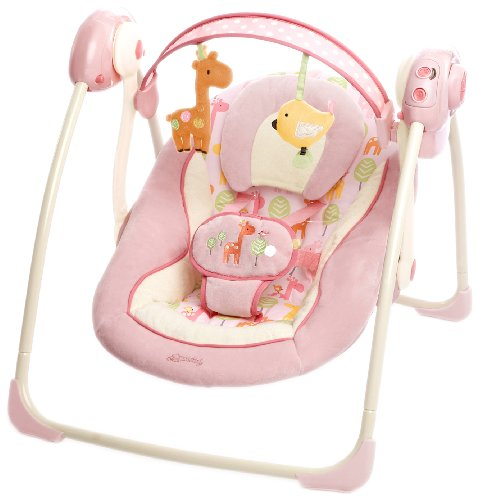 Bright Starts 60121 Girafaloo portable Babyschaukel