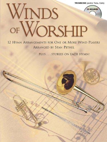 Winds Of Worship (Trombone) Tbn Book/Cd