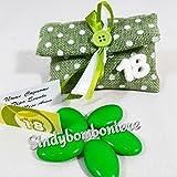 Sacchetti portaconfetti 18 anni con gessetti profumati prezzi offerta on line