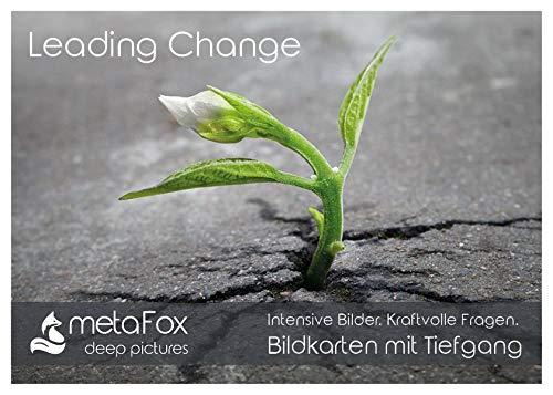 metaFox deep pictures - Leading Change: 52 Bildkarten für Veränderungsprozesse & Change Management - mit passenden Coaching Fragen auf der Rückseite (metaFox deep pictures / Postkarten mit Tiefgang)
