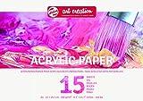 Talens Art Creation -   Acrylicpapier A4, 290g, 15 Blätter, FSCM80