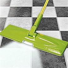Multiusos ajustable fregona de microfibra de limpieza flexible luz la humedad suelo limpiador, limpiador de libre, libre gamuza de limpieza con luz LED, flexible y fuerte Floor Polish Set de limpieza