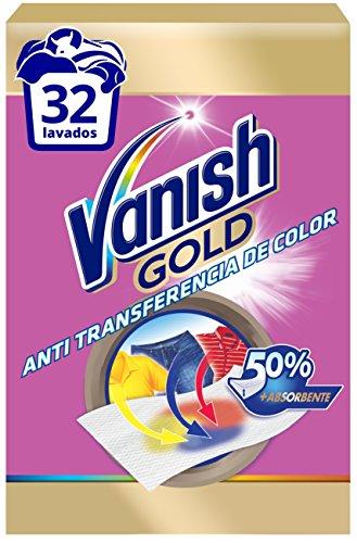 Vanish Anti-transferencia de color - 4 Paquetes de 58 gr - Total: 232 gr