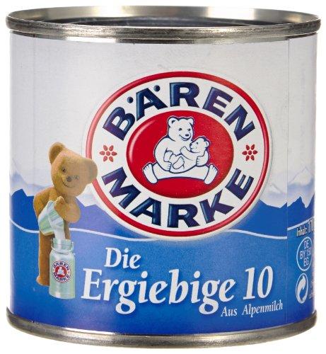 Bärenmarke Die Ergiebige 10, 8er Pack (8 x 3 x 170 g)