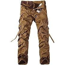 Pantalones Cargo para Hombre - Pantalon de Chandal Jogging Deporte