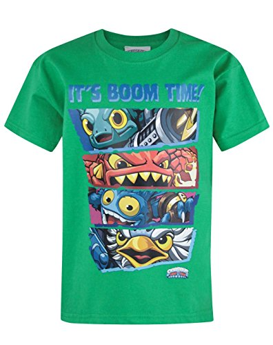 Official Skylanders Trap Team Boom Time Kid's T-Shirt (9-10 Years)