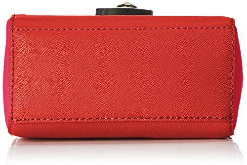 Trussardi 75b495xx53, Borsa a Tracolla Donna, 17 x 16 x 10 cm (W x H x L) Multicolore (Red/Fuxia)
