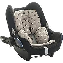 Reductor Antialérgico universal para maxicosi, capazo, silla de coche, silla de paseo Janabebe Mr mustache