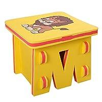 B Blesiya DIY Non-Toxic Waterproof Interlocking Foam Chairs Play Stools Lion