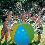 LVHERO Spritz- und Sprayball, 75cm Durchmesser Super Großen Wasserspritzbälle, Strandball-Sprinkler, Spielzeug, aufblasbar, Wassersprühball für heißen Sommer, Schwimmen, Party, Strand, Pool