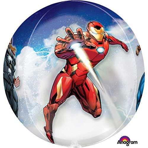 Amscan International 3466101 Orbz Avengers Folienballon