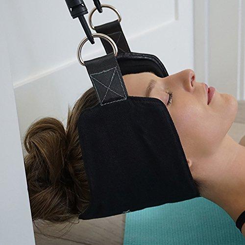 BADARENXS Hamac de cou meilleur hamac de soulagement de la douleur de cou pour le cou hommes femmes Relaxion masseur