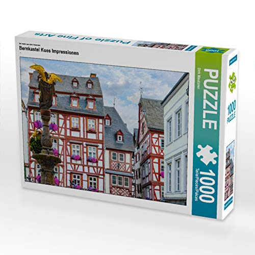 CALVENDO Puzzle Bernkastel Kues Impressionen 1000 Teile Lege-Größe 64 x 48 cm Foto-Puzzle Bild von Dirk Meutzner