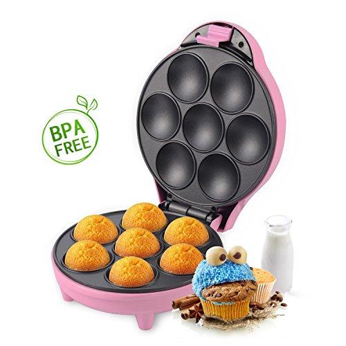Aigostar Popcaker Pink 30CEU - Macchina per...