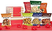 Nutty Gritties Mixed Dry Fruits Nuts - Variety of 7 Flavoured Nuts On The Go Gift Box - 159G (Vegan, Gluten Fr