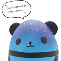 Bluestercool Jumbo Cute Panda Squishy Toys Stress Reliever for Kids and Adults Slow Rising Cream Scented Soft Toys