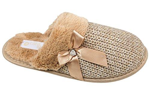 gibra, Pantofole donna Beige