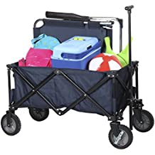 Campart Travel - Carrito Plegable, Color Rojo