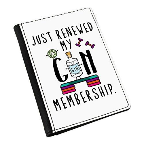 Just Erfrischende Mein Gin Mitgliedschaft Pass-Etui Deckel (Mitgliedschaft)