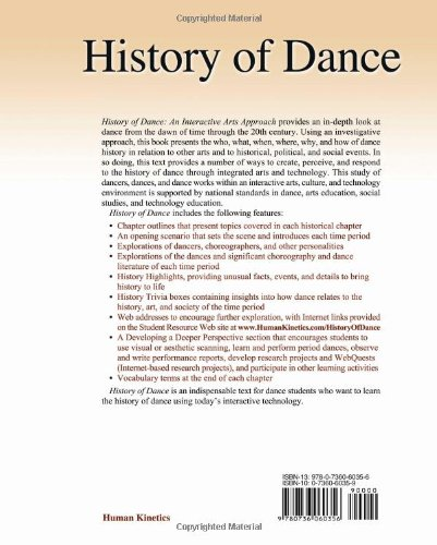 History of Dance: An Interactive Arts Approach