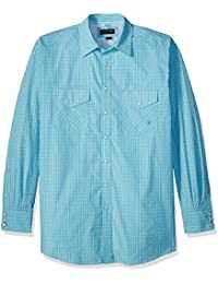 Ariat Men's Big and Tall Classic Fit Short Sleeve Snap Shirt-Pro Series