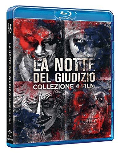 Notte del Giudizio Collection 1-4 (4 Blu Ray)