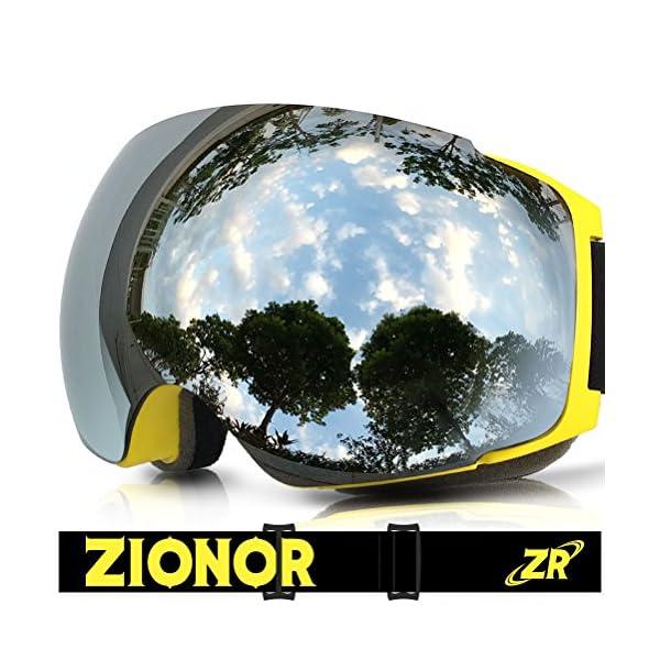 ski goggles zionor